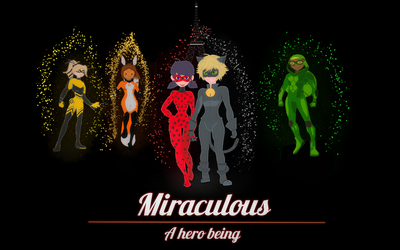 Miraculous - A Hero being by 4everlot
