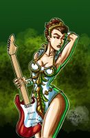 Rocking Teela $20 USD commission by chachaman