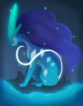 Suicune by monomite