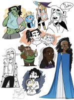 The adventure zone doodles by Thesleepypencil
