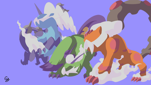 Thundurus Tornadus Landorus Therian Form - Pokemon