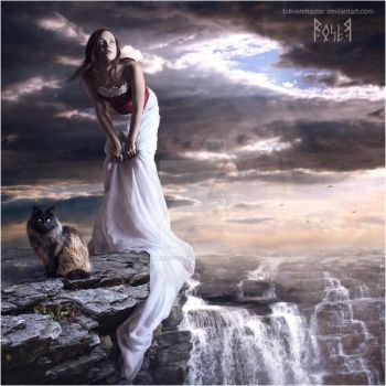 The edge by EmberRoseArt