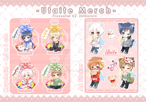 [FA] Utaite Merch - Comifuro 9 by Shikaruru
