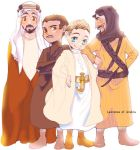 Feisal, Ali, Lawrence and Auda by pippipippitama