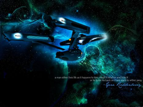 To Boldly Go.. by TheCompanionPrincess