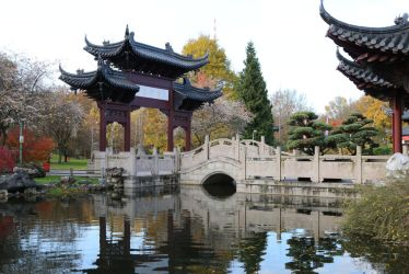 Chinese garden Stock 28 by Malleni-Stock