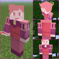 Prince Gumball minecraft skin by lunakittycat13