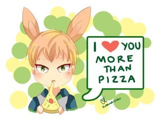 -- DMMD : I love you more than pizza -- by Kurama-chan