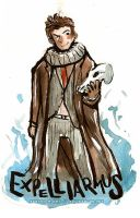 Doctor Who Expelliarmus 10th Doctor by Tsubasa-No-Kami