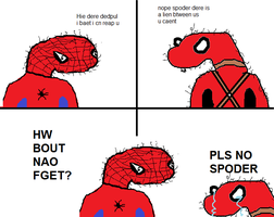 SPODER MAN by frankHebi