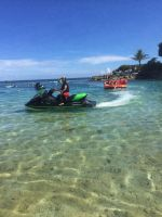 Jet skiing in Okinawa was a blast by iluvllamas05