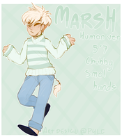 Marsh human ref by P4LE
