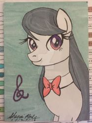 Octavia From MLP Sketch Card by metonnika