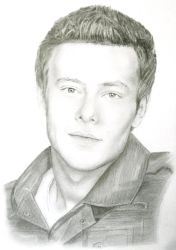 Cory Monteith - Finn Hudson by grohlsguitar