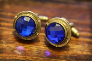 Captain Nemo's Cufflinks by CatherinetteRings