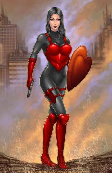 Commission: Queen Of Hearts 2 by johnbecaro