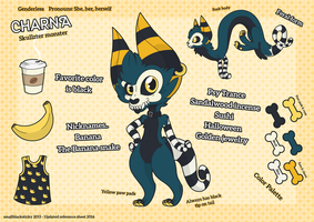 Charna - New reference sheet update by Smallblacksticky