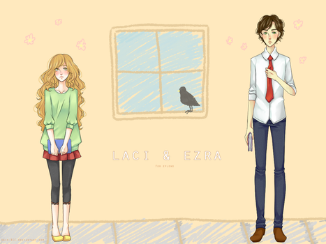 AT: Laci and Ezra by Anir-BIC