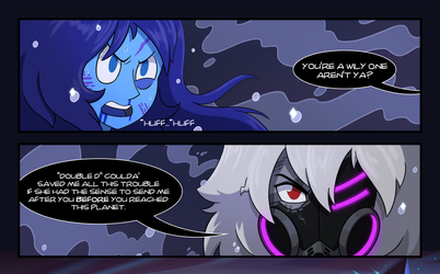 Jet v Lapis Dark Homeworld Special Mission Preview by TheGraffitiSoul