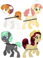 Shipping MLP Mare DTA  (Closed! Congrats!) by MintChocolatey