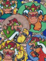 Bowser mania! by Pizza-and-Fandoms