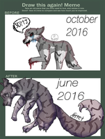 strike - before and after by Ferretser