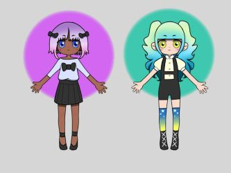 Pastel Goth adoptables (Closed) by AnklesocksFox