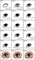 Eye Tutorial by GazeCreative
