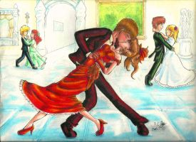 Red Wedding by kcday