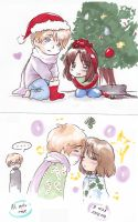 RusLit Christmas Blobs by NiaNook33