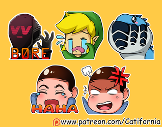 Very Cute Twitch Emotes (September 16th Edition) by Catifornia