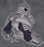 Shredder warm up sketch by MBorkowski