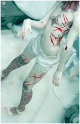 Twisted body, Wretched soul by Bluoxyde
