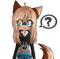 Draw your oc: Genderbent- Andy by avozinha