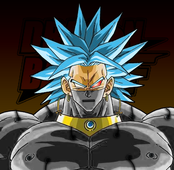 Iron Broly Portrait By JP7 by jeanpaul007