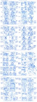 Collection of Storyboards by Quarter-Virus