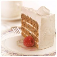 3d Chocolate Cake with vanilla cream ver2 by Damiano79