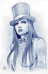 Zatanna Sketch by Tarzman