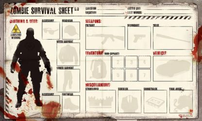 Survival Sheet - Blank by TheStink411