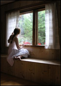 By The Window II by Eirian-stock
