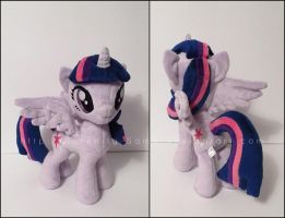 Plushie: Princess Twilight Sparkle - MLP: FiM by Serenity-Sama