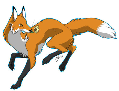 SW 2014- Red Fox by A-Fistful-Of-Kittens