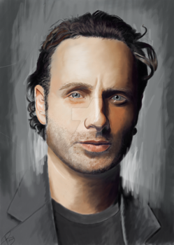 Andrew Lincoln by alice-castiel