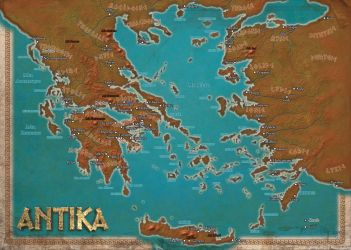 Antika RPG Greece Color Map by DePassage