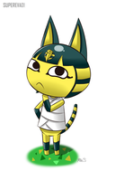 Animal Crossing Ankha by supereva01