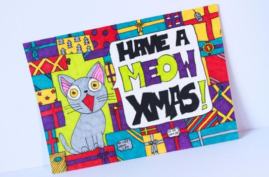 Merry Xmas from the cats by lwordish