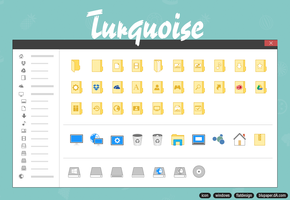 Turquoise 1.3 by BluPaper