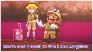Mario and Peach in the Lost Kingdom by Lazbro64