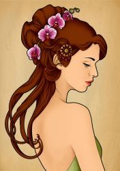simply nouveau in color by elimak
