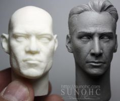 Neo V2 head sculpt Matrix 2 by sunohc